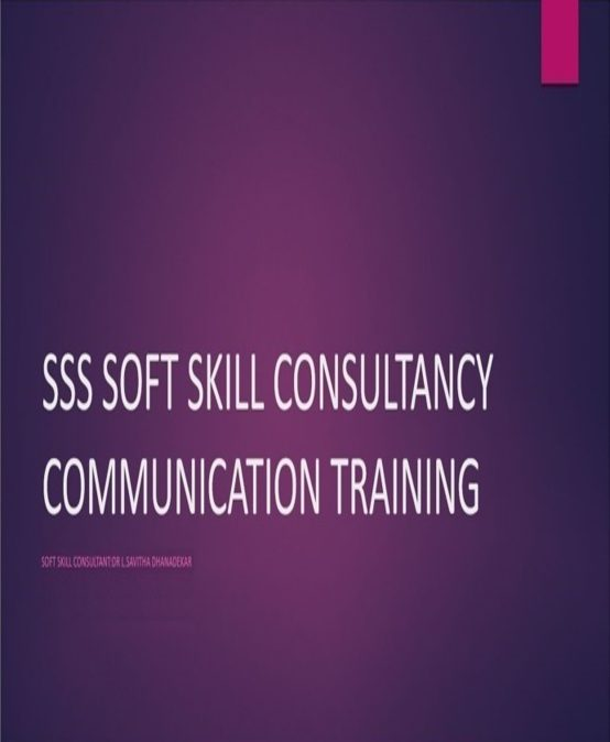 Welcome to SSS Soft Skills Training Programs