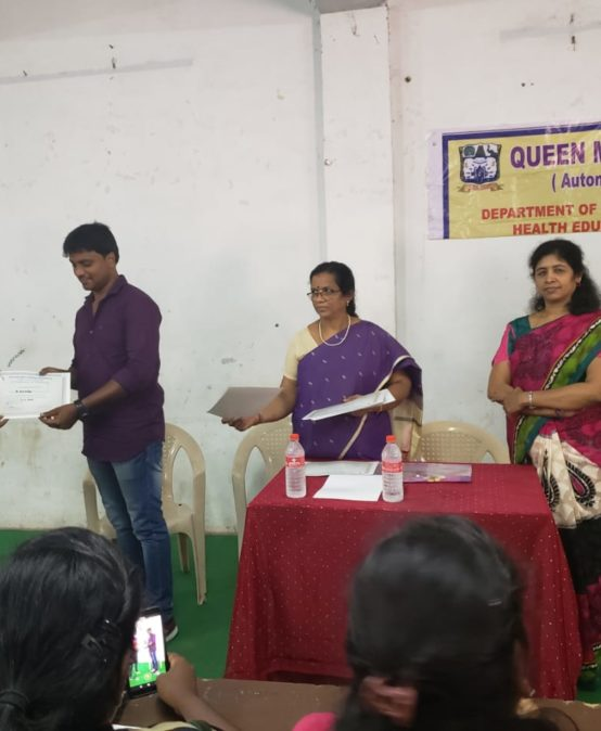 Programme at Queen Mary's College Chennai
